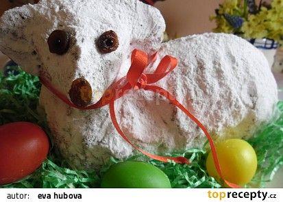 Velikonoční beránek ( hrnkový ) recept - TopRecepty.cz
