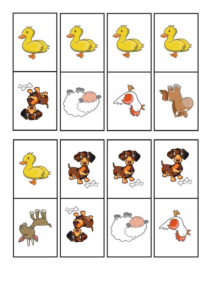 çiftlik hayvanları domino oyunu (2) | Evimin Altın Topu