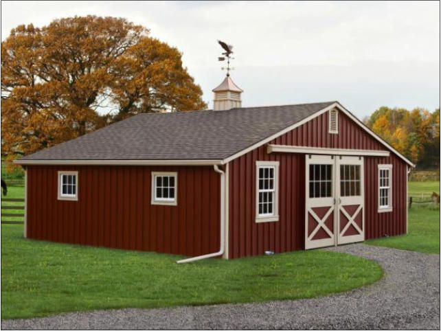 187 curated barns ideas by merrimm saddle pads stables for Red barn prefab