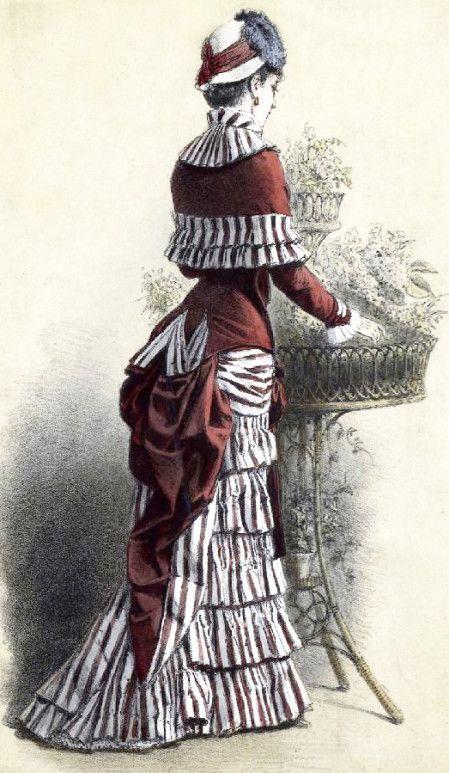 Tout le linge de la femme, les dessous blancs qui se cachent, s'étalait dans une suite de salles, classé en divers rayons. Les corsets et les tournures occupaient un comptoir, les corsets cousus, les corsets à taille longue, les corsets cuirasses, surtout...