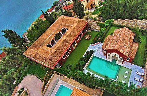 The private paradise of Villa Veneziano, Lefkada Greece