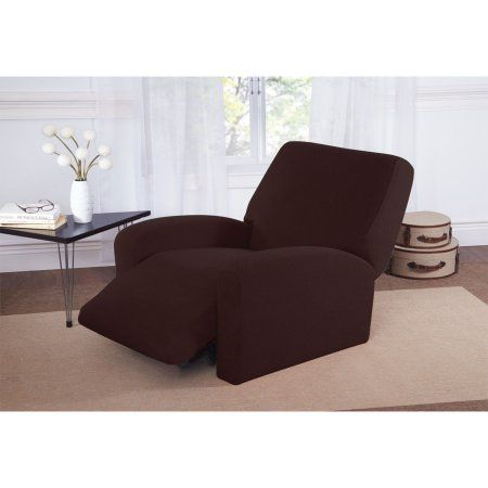 Sofa Pillows Buy Mason Stretch Large Recliner Slipcover Chocolate at Walmart