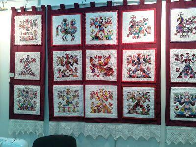 Бабушкин сундук: Второй Уральский фестиваль лоскутного шитья