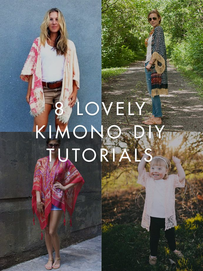 DIY Trends – 8 Kimono Projects