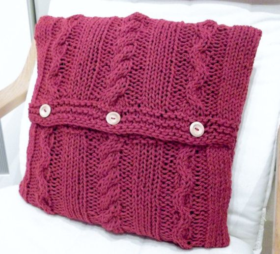 1000 images about knitted cushion covers on pinterest for Floor knitting