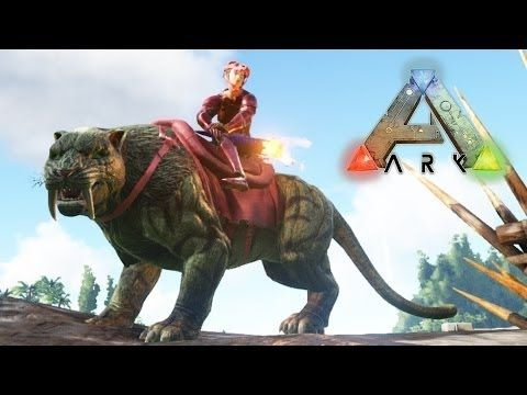 ARK ARK: Survival Evolved( Растим Рекса)
