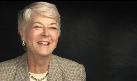 Geraldine Ferraro, the first female Vice Presidential candidate representing a major American political party.  Check out her Makers: Women Who Changed America!