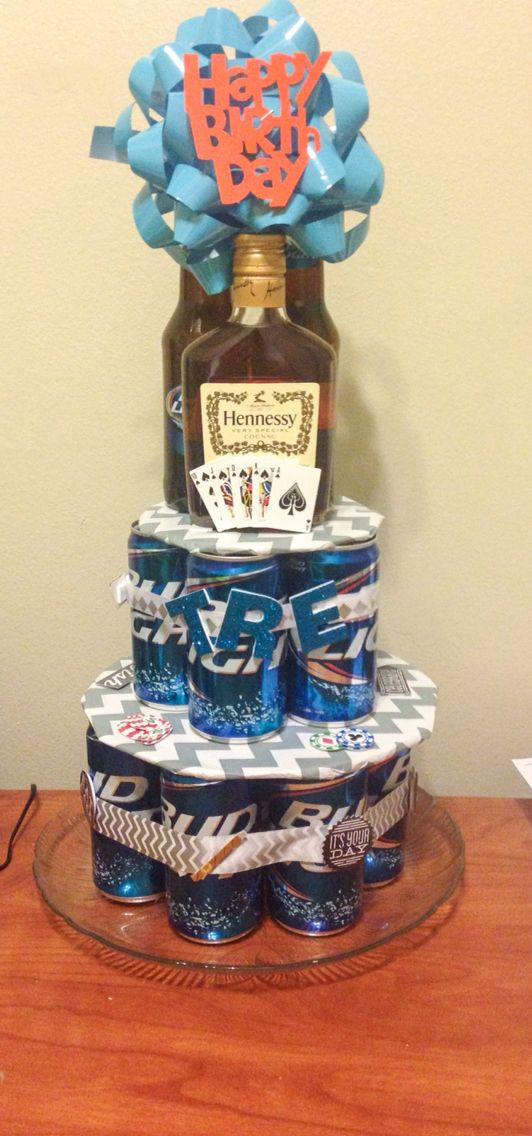 Beer can cake that I made!