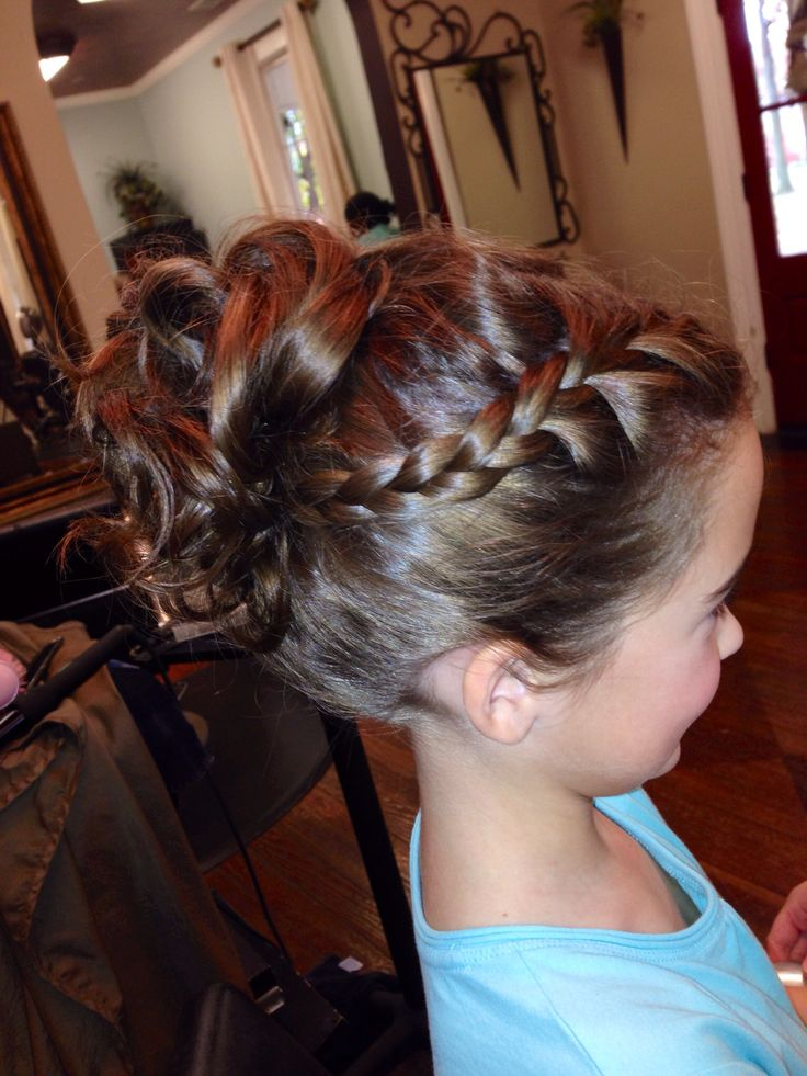 17 Best Ideas About Little Girl Updo On Pinterest Easy