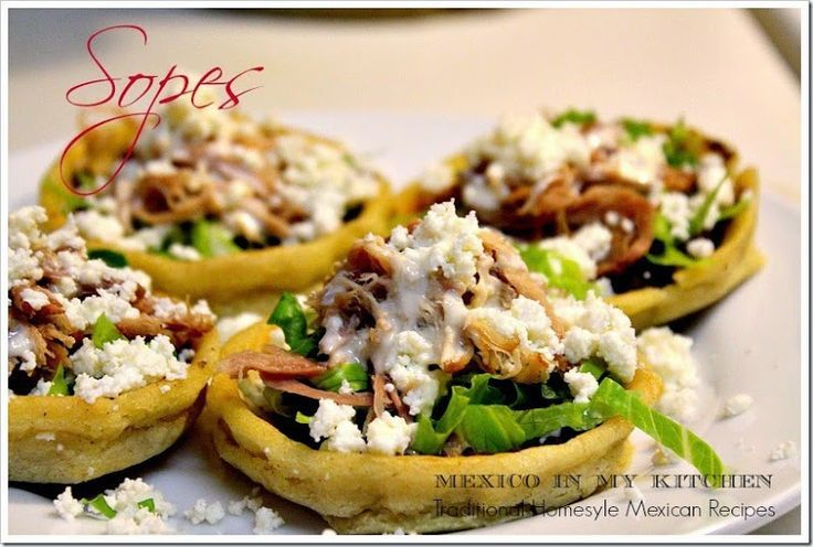 A detail step by step guide to make Sopes. Authentic Mexican Food.