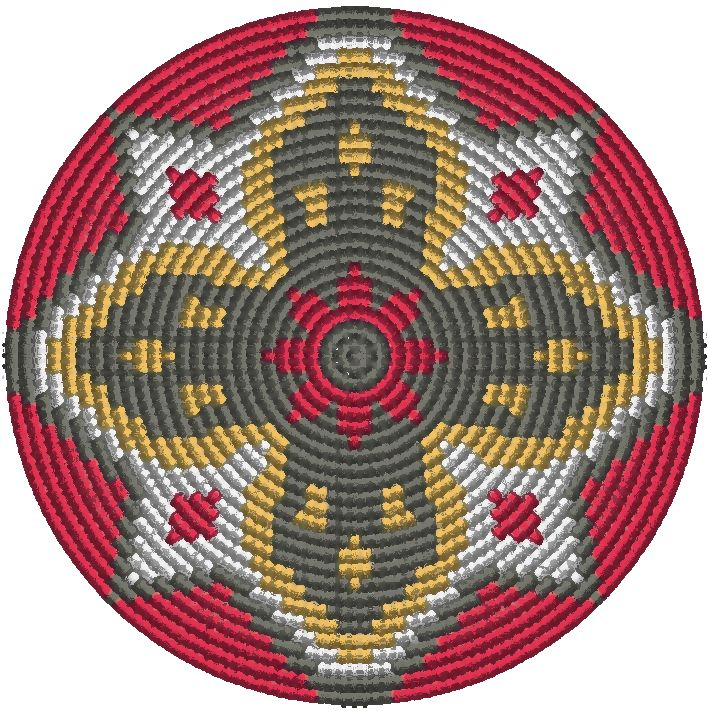 Bodem voor de Mochila style tas Spanje ster