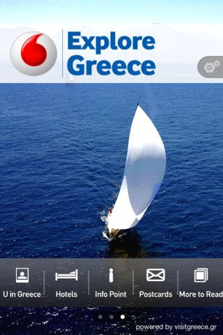 VISIT GREECE| Vodafone Explore Greece app powered by Visit Greece