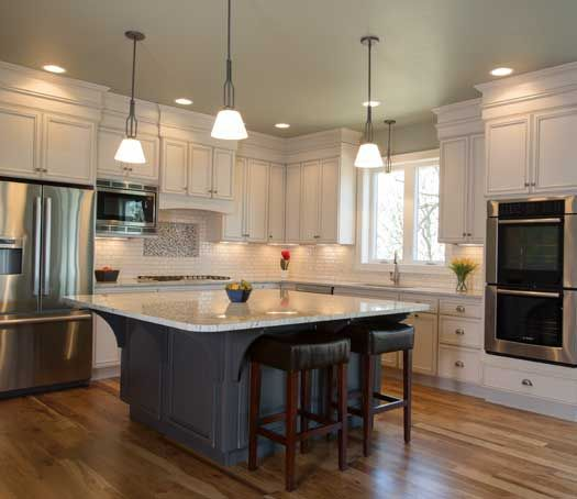 Kitchen With Island In Sioux Falls, SD. Designed By Todayu0027s StarMark Custom  Cabinetry And