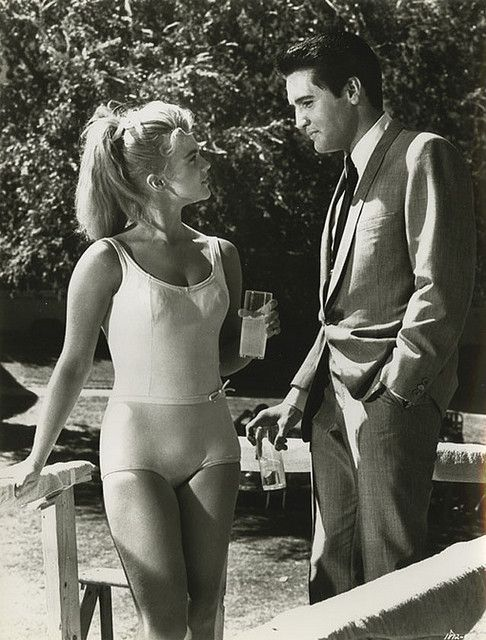 Ann-Margret and Elvis Presley from Viva Las Vegas (1964).