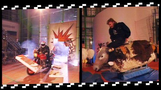 """Arto """"Artsi"""" Nyqvist muistetaan temppuilustaan moottoripyörän selässä ja roikkumisesta sen perässä puukengät jalassa sauhuten sekä hypystään Lahden pikkumäestä rättisitikkaa ajaen. Miehen uralle mahtuu myös Ylen Ison Pajan rodeokilpailun voitto."""