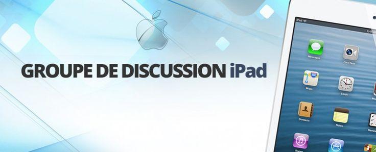 Joignez-vous au groupe iPad UQTR