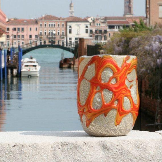 Murano Glass tumbler  Trademark of Origin Guaranteed by YourMurano, €79.00