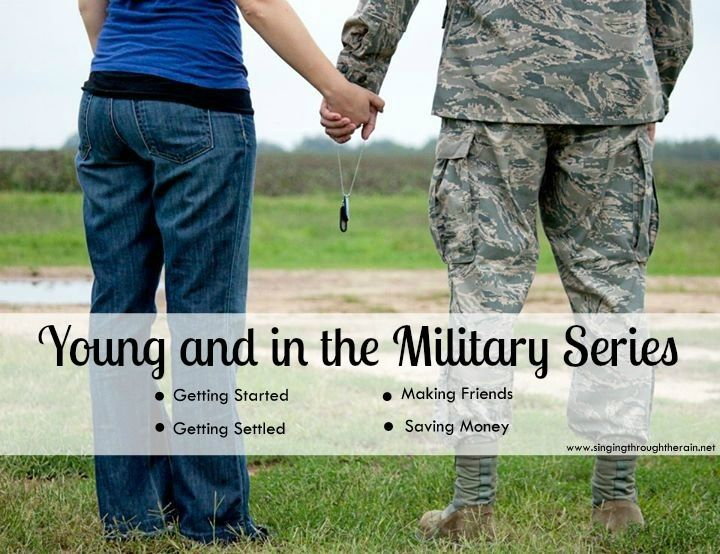 Young and in the Military Series - When I first heard my fiance (now husband) was joining the Air Force, I had no idea what that would mean for me. Here is just a little bit of what I've learned!