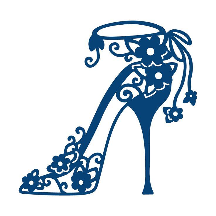 shoe vector lace high heelspaper