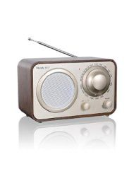 From Amazon.com. Click for details:  CE: Shenle Retro Style Radio Glossy Wooden Radio FM/AM Computer Speaker - Shenle
