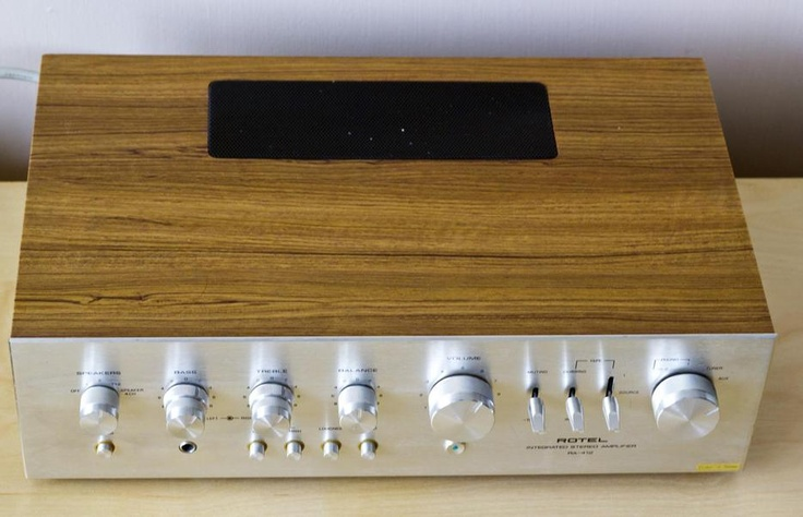 Vintage rotel ra 412 integrated amplifier good old hifi pinterest vintage - Rotel extracteur de jus ...