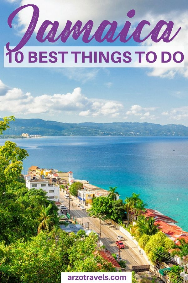Find out about the best 10 things to do in Jamaica - where to go and what to see and more important travel information for Jamaica.