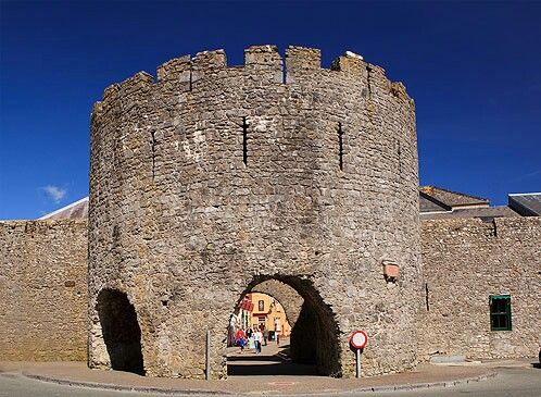 Town wall turret - Tenby