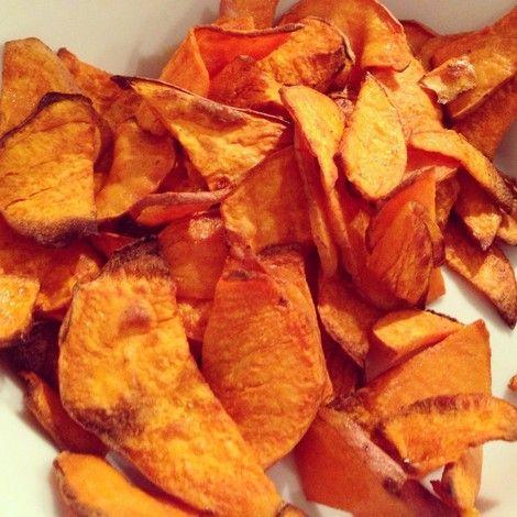 Süßkartoffel-Chips - Teekesselchen
