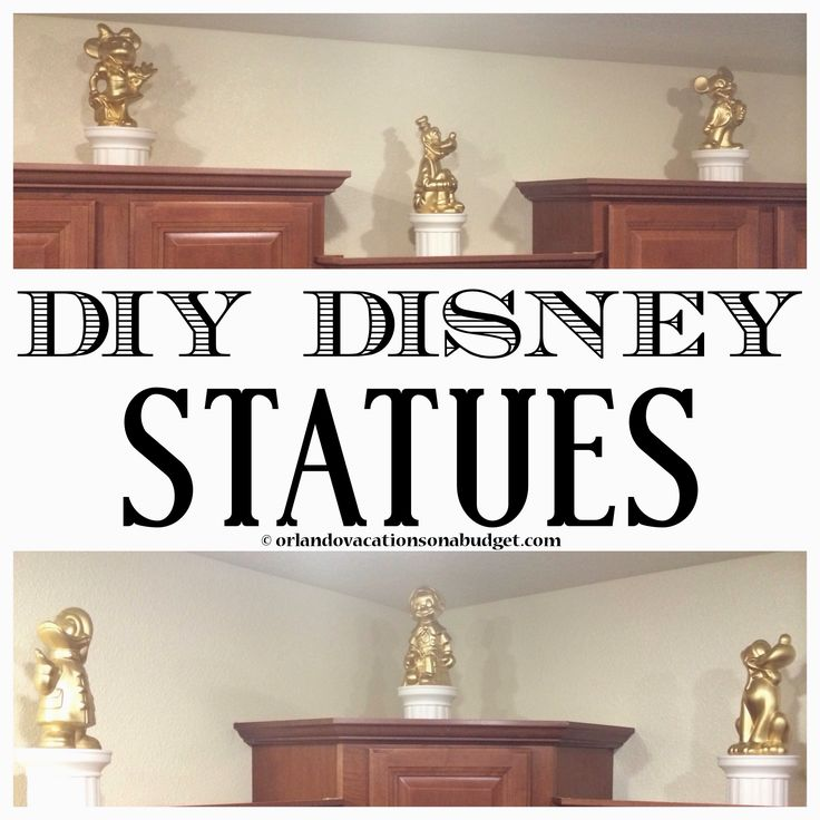 Diy Disney Statues Home Decor Inspired By The Walt Disney World Casting Building