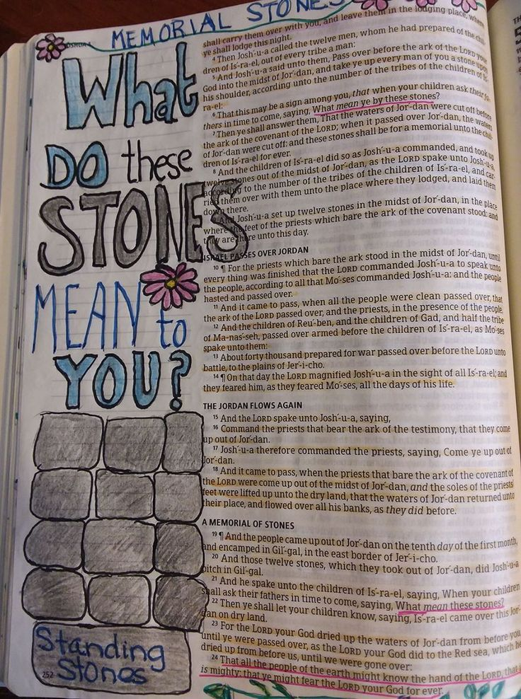 What do these stones mean to you? Remembering to be thankful.