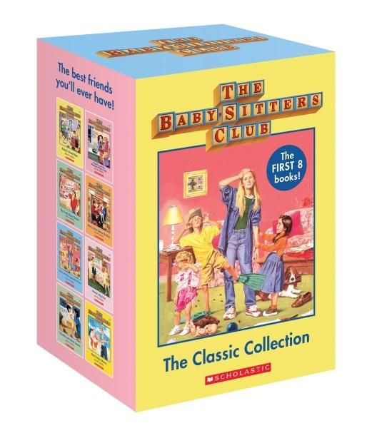 Seven to nine year old gift ideas - Baby Sitters Club classic collection