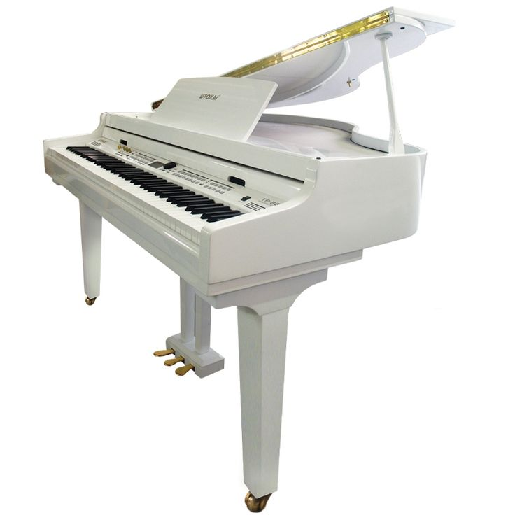 Piano Digital de Cauda Tokai TP88C Branco