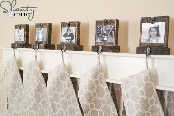 DIY-Wood-Stocking-Hangers  TUTORIAL  THIS CAN BE USED ALL YEAR LONG OR IN CLASS ROOMS FOR KIDS WORK!!!!