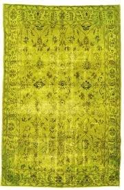 Elegant Chartreuse Rug