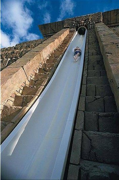 Atlantis Bahamas - actually did this slide ONCE