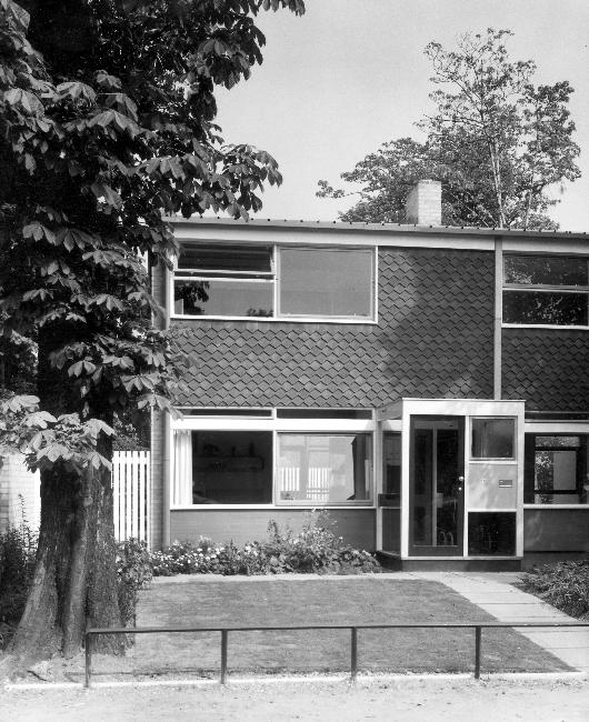 House at The Hall, Blackheath by Span Developments (1957)