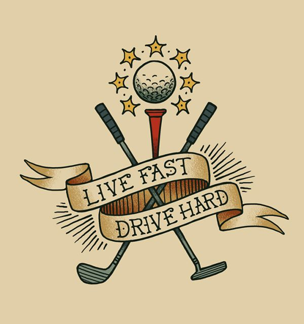 golf tattoo design - Google Search