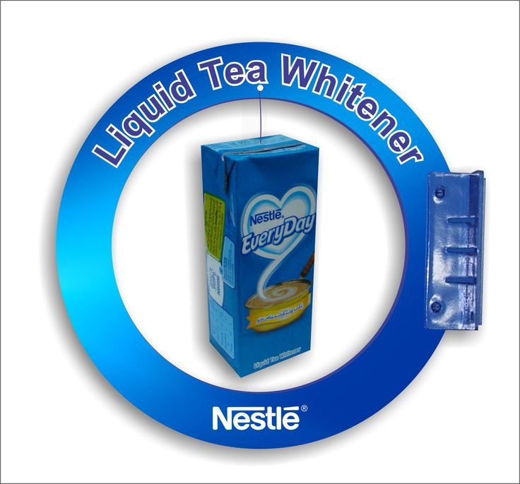 Nestle EveryDay In-shop Availability Sign; Designed & Produced By Display Power Global- Pakistan