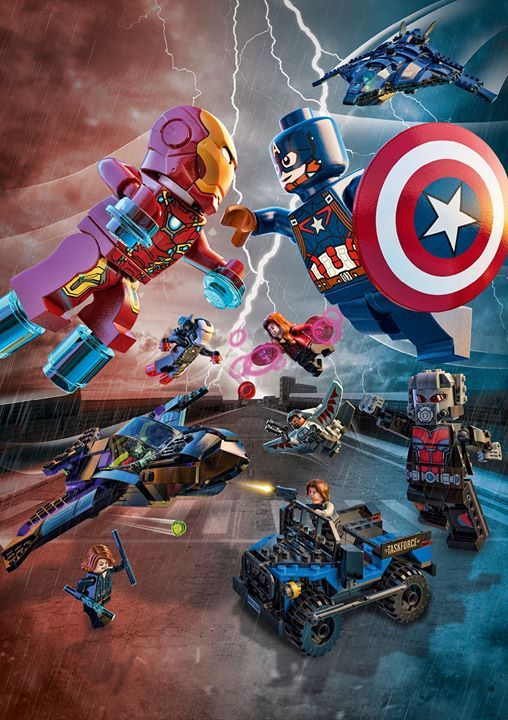 There's a rift between former Avengers allies Captain America and Iron Man! Bring the battle to life in your living room with new LEGO Marvel Super Heroes play sets