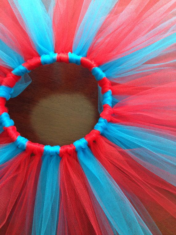 Dr. Suess Tutu Dr. Suess Costume Thing 1 Thing by TheSugaredRibbon