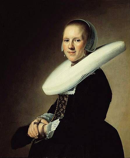 Jan Cornelisz. Verspronck born between 1600 and 1603 in Haarlem, died 1662 . 1641 Portrait of a Lady XVII.s. Dutch