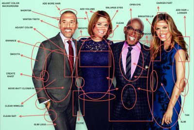 all the things that are supposedly wrong with the appearance of Today show anchors