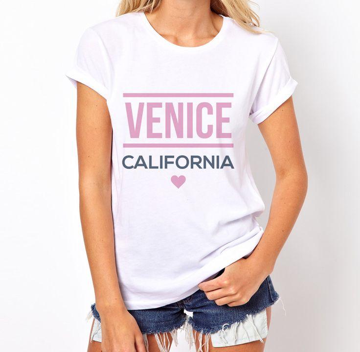 "T-Shirt ""Venice California"" // Shop here >> http://bit.ly/1uG18HD  #love #beach #cali #venice #fashion"