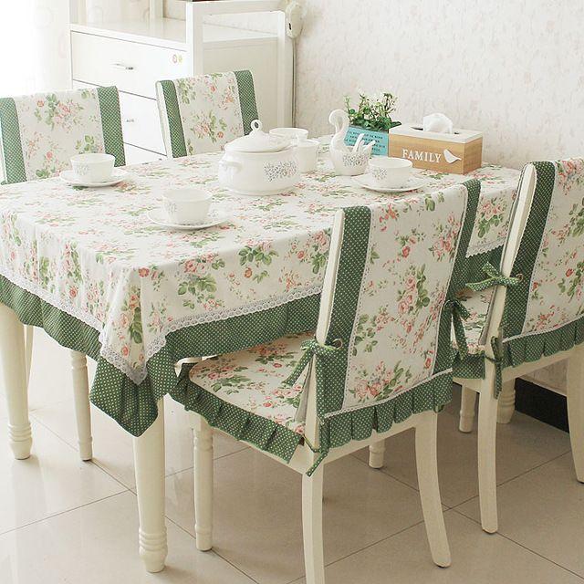 Nova chegada mesa de jantar pano almofada tampa da cadeira tecido toalha de mesa toalha de mesa toalha de mesa quadrada de pano rústico definir                                                                                                                                                                                 Mais
