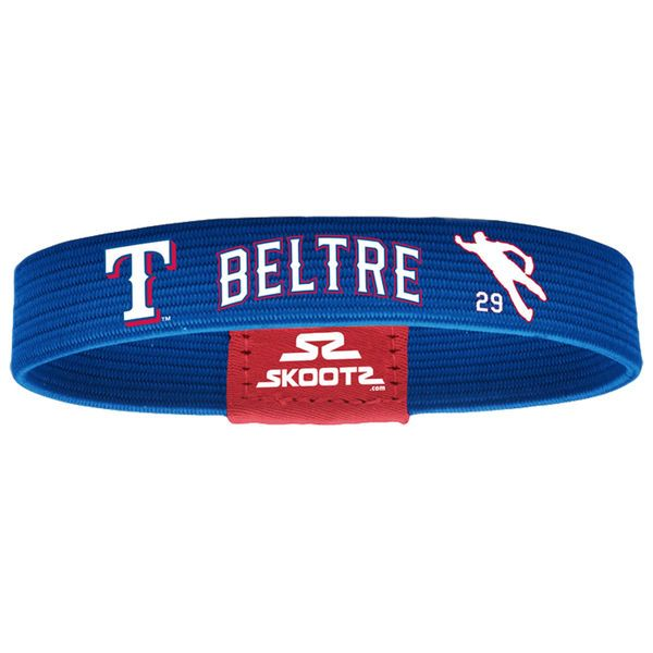 Adrian Beltre Texas Rangers Skootz Shadow Bandz - Royal - $9.99