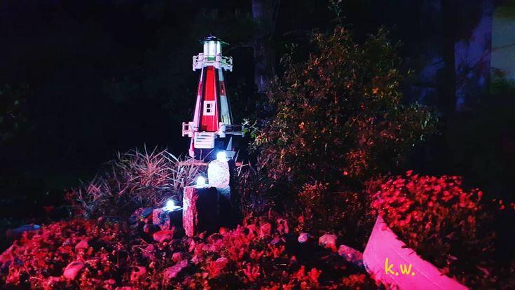 Abendstimmung  #leuchtturm #leuchtfeuer #abendstimmung #gartengestaltung #garten