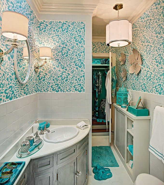 House of Turquoise: Creative Wallcoverings and Interiors