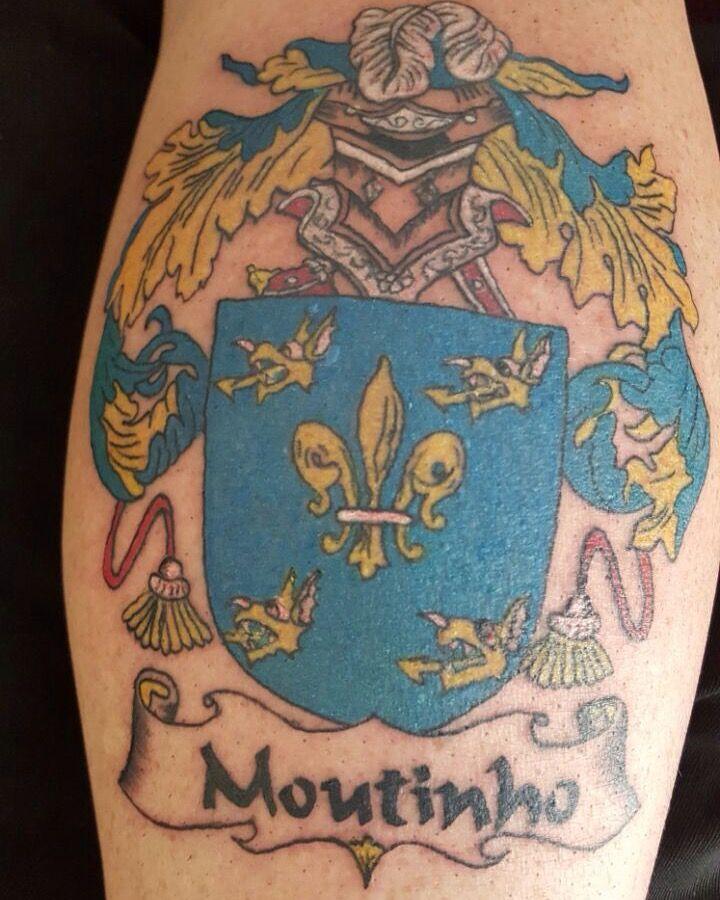 Family Chrest Artist Charlane Powell - Chop Shop Tattoos www.chopshoptattoos.co.za