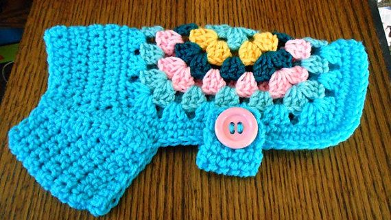 Free Crochet Granny Square Dog Sweater : 25+ Best Ideas about Crochet Dog Sweater on Pinterest ...