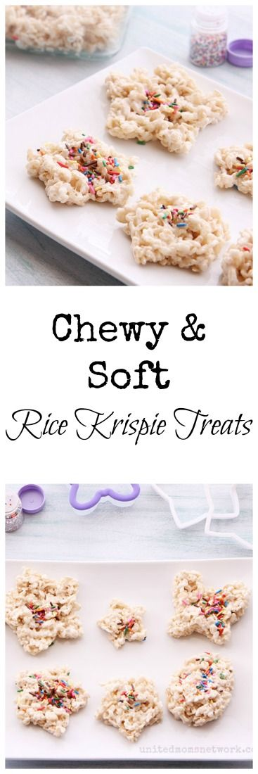 Chewy, soft, and easy rice krispie treats